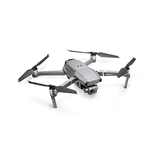 DJI Mavic 2 Pro - Drone Quadcopter UAV with Hasselblad Camera 3-Axis Gimbal HDR 4K Video Adjustable Aperture 20MP 1' CMOS Sensor, up to 48mph, Gray