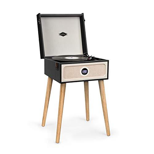 giradischi jukebox AUNA Sarah Ann - Giradischi Vintage da 33/45/78 Giri/Minuto