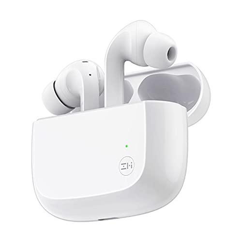 ZMI Auriculares inalámbricos Bluetooth 5.2 Auriculares con control táctil Estuche de carga inalámbrica en la oreja Auriculares estéreo /Cancelación de ruido/Graves profundos/32H