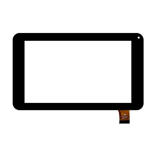Negro Color EUTOPING  De Nuevo 7 Pulgadas Pantalla tactil Digital La sustitución de para Woxter QX79 QX 79