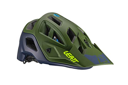 Leatt Casque MTB 3.0 AllMtn Casco de Bici, Unisex Adulto, Verde Fluor,...