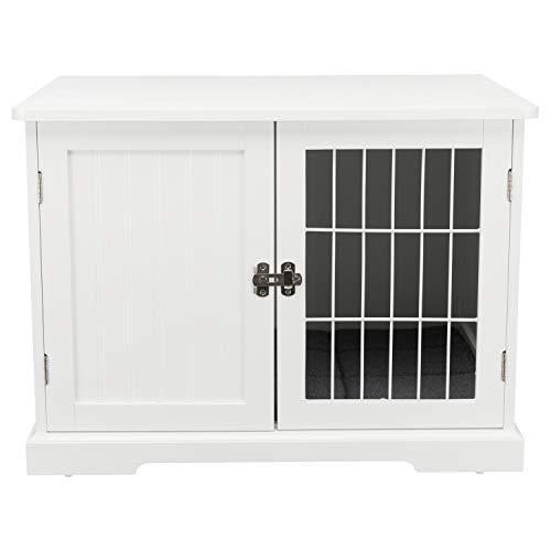 Trixie 39753 Home Kennel für Hunde und Katzen, M: 73 × 53 × 53 cm, weiß