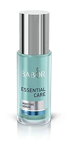 BABOR ESSENTIAL CARE Moisture Serum für jede Haut, Hyaluron Serum mit Aloe Vera zur Feuchtigkeitspflege für das Gesicht, Vegane Formel, 1 x 30 ml