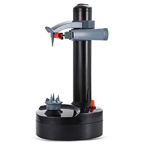 Elektrischer Peeler Automatische Rotating Apfelschäler Kartoffelschälmultifunktions-Edelstahl-Frucht-und Gemüseschäler elektrische Maschine