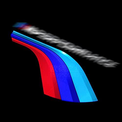 xy Proyector de Bienvenida de la Puerta de Autos LED Luces LED para BMW E60 E90 E46 F10 Z4 E63 E89 E85 GT X1 X3 X5 X6 M3 M5 M5 F01 F30 F15 E92 Logo DE Logo (Emitting Color : Track Logo)