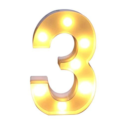 Mlamat LED-Buchstaben mit LED-Buchstaben, 26 Buchstaben des Alphabets und der kommerziellen Zahlen Symbol Liebe Herz beleuchtet Stimmungslicht für Liebe Hochzeit Haus Party Bar Dekoration 3