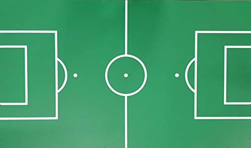 Charlsten Spielfeld für Kickertische Tischkicker Spielplatte 120x71 cm
