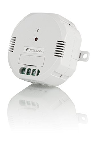 Trust Smart Home 71015 Trust ACM-1000-Interruptor integrado inalámbrico, Color blanco