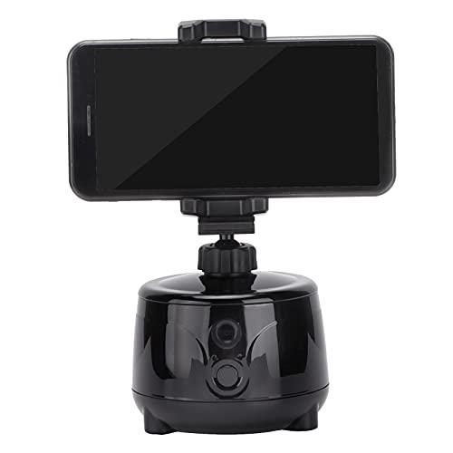 Jopwkuin Soporte para cámara de Seguimiento de Objetos Inteligente, Dispositivo para teléfono Inteligente de Seguimiento automático fácil de Usar para transmisión en Vivo para E-Clip