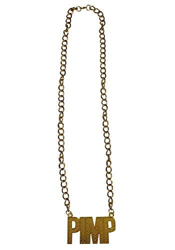 Ruedelafete Gold Pimp Necklace Standard