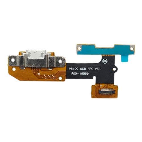 Zhangsihong Parti di Ricambio del Telefono Cavo Flex for Porta di Ricarica for Lenovo Yoga Tab 3 YT3-X50L YT3-X50f da 10 Pollici YT3-X50f YT3-X50m p5100 Connettore di Coda