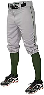 Easton PRO+ Knicker Pant Youth Piped Grey/Green M