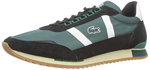 Lacoste Partner Retro 319 1 SMA, Zapatillas para Hombre, Verde (Dk Grn/Off Wht), 42 EU