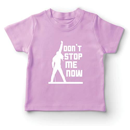 lepni.me Camiseta para Niños Don't Stop me Now! Camisas de Abanico, Regalos de músicos, Ropa de Rock (14-15 Years Rosado Multicolor)