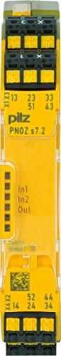 Pilz Kontaktblock PNOZ s7.2 C #751177 24VDC 4 n/o 1 n/c ex Gerät zur Überwachung von sicherheitsgerichteten Stromkreisen 4046548052534