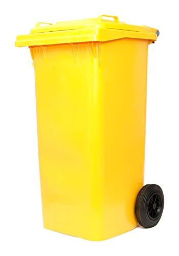 Bidon nettezza urbaine en polypropylène à haute densité. Avec Roues. Résistant à Tous Les Agents chimiques, n'absorbe les liquides. Et 'lavable et stérilisable.