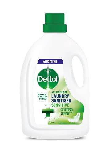 Dettol Antibacterial Laundry Cleanser, Sensitive, 2.5 L