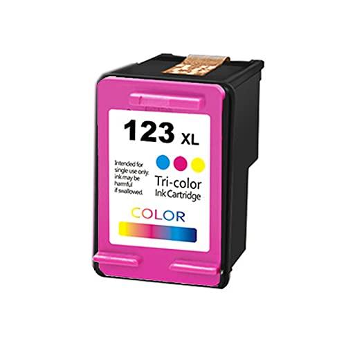 UKKU para el reemplazo del Cartucho de tóner HP 123XL para HP DeskJet 1110 2130 2132 2133 2134 3630 3632 3637 3638 Impresoras con papelería Negra de Chips y Suministros d Color