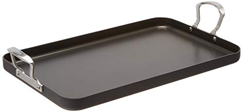 Cuisinart Washer Safe Double Burner Grill, 13 by 20-Inch