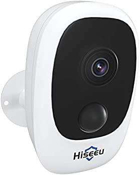 Hiseeu Battery-Powered Home Security Camera