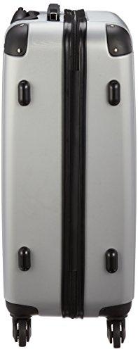 [レジェンド] ABSキャリーケースL TSAロック付き 59 cm 3.6kg 05-5177 シルバー