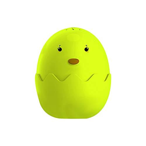 Refrigerator Deodorizer Remover Absorbs Odors,Reusable baking Air Purifier,Baking Soda Fridge And Freezer Odor Absorber & Freshener Holder,Cute Egg desig (Green)