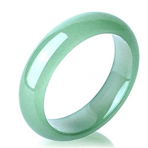 North King Pulsera De Jade Verde Claro Chino Natural JoyeríA Redonda De Estilo De Moda Regalo De Madre Amor con Exquisito Joyero