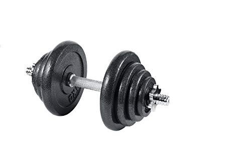arteesol Manubrio, Manubri Manubri in Ghisa Manubri 10 kg 15 kg 20 kg 30 kg perPersone di Fitness Professionale (1x20kg-Singolo)