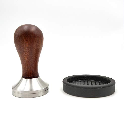 Coffee Tamper 51mm Espresso Tamper 51mm304 Stainless Steel Espresso Coffee Tamper 51mm with Mat