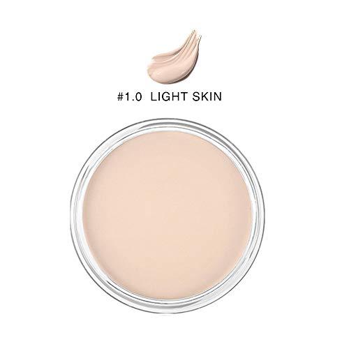 Crème anticernes, maquillage cosmétique de palette de camouflage de concealer, palette de maquillage de maquillage de 6 couleurs pour la couverture de crème durent le maquillage parfait(1#)
