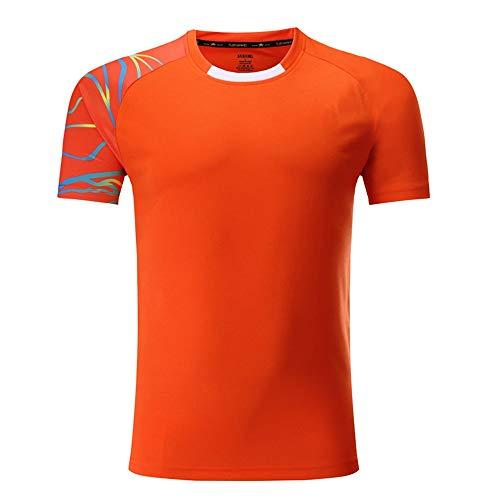 Axdwfd pyjama ronde hals T-shirt, rugbyhemd, herensport lichte atletiek scheidsrechter trainingspak ademend korte mouw