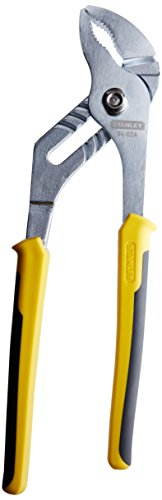 Stanley 84-024 10-Inch Bi-Material Groove Joint Pliers