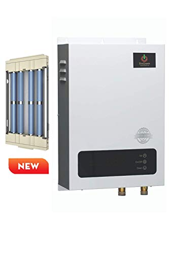 Sio Green SIO18 v2 Commercial Infrared Electric Tankless Water Heater - Instant Hot Water Heater - Corrosion Free - Free Maintenance - 220v - 240v / 80A / 18kW