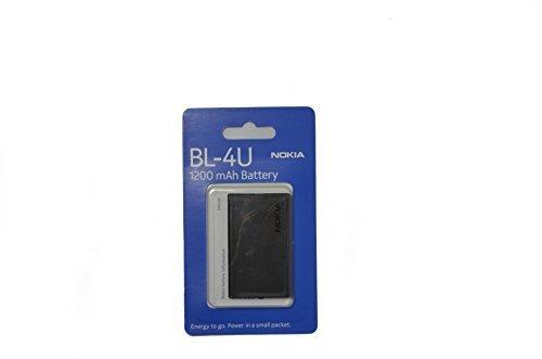 Nokia BL-4U 1200 mAh / passend für Nokia 3120 Classic, 5250, 5330 XM, 5530 XM, 5730 XM, 6212 Classic, 6216 Classic, 6600 Slide, 6600i Slide, 8800 Arte, 8800 Gold Arte, C5-03, E66, E75 Originalverpackung (Blister-Verpackung)