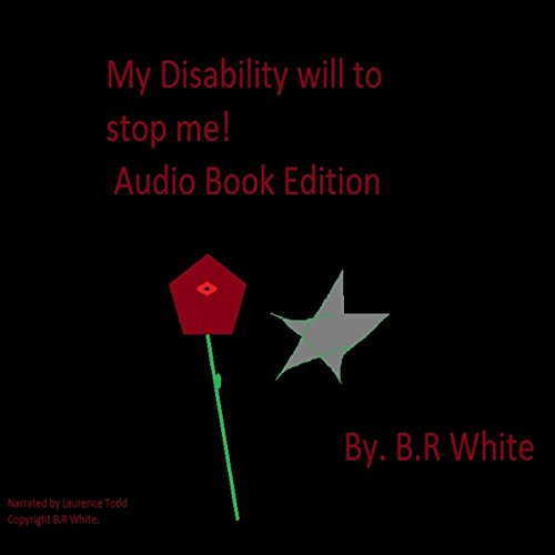 My Disability Will Not Stop Me! audiobook cover art
