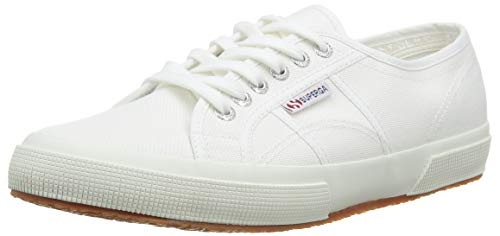 Superga 2750 COTU Classic Sneakers, Zapatillas Unisex Adulto, Blanco 901, 41.5 EU