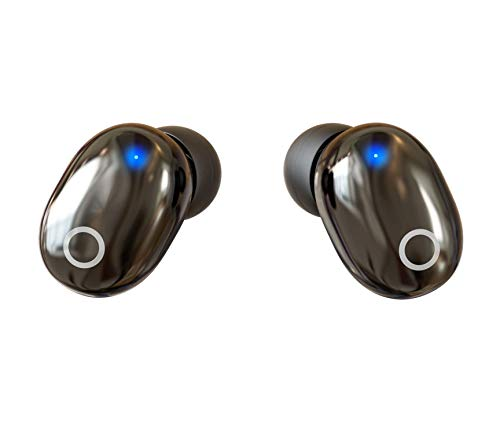 Super Compact Bluetooth Earbuds Wireless Bluetooth 5.0 Headphones Bluetooth Earbuds Stereo Earphone Cordless Sport Headsets in-Ear Earphones Built-in Mic Smart Phones Work/Running/Travel/Gym 3