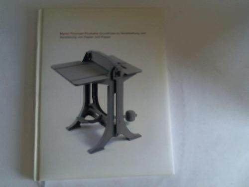 Grundrisse zu Verarbeitung und Veredelung von Papier und Pappe. 20 Jahre Maren Thomsen Produkte. 1988 - 2008