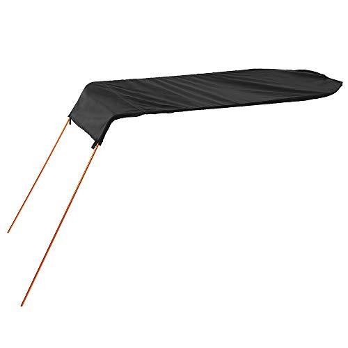 【Tamaño de la cobertura: 124 cm * 63 cm】Diseñado para kayak individual. 【Protección UV】Se conecta a su kayak y lo protege de las quemaduras solares. 【Sombreado omnidireccional】Ofertas aprox. 8 pies cuadrados de cobertura. 【Material: Malla + varilla d...