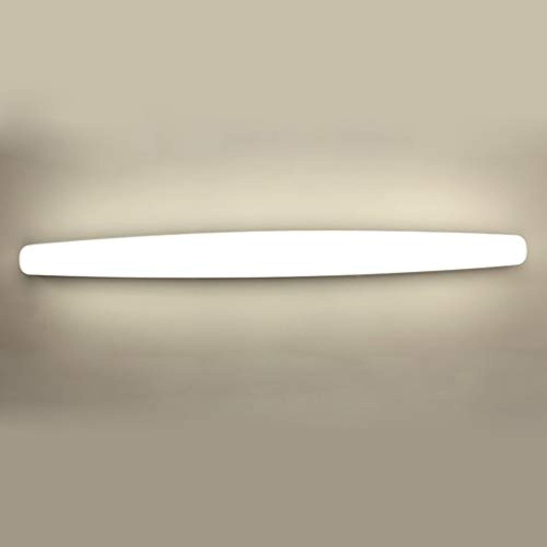 Badezimmerspiegel Beleuchtung LED-Spiegel Scheinwerfer, wasserdicht Beschlagfrei Energiesparen Badezimmer Badezimmer Wand lampe Spiegelschrank Make-up-Leuchten (Gre  58,6  5,4  6,2 cm)