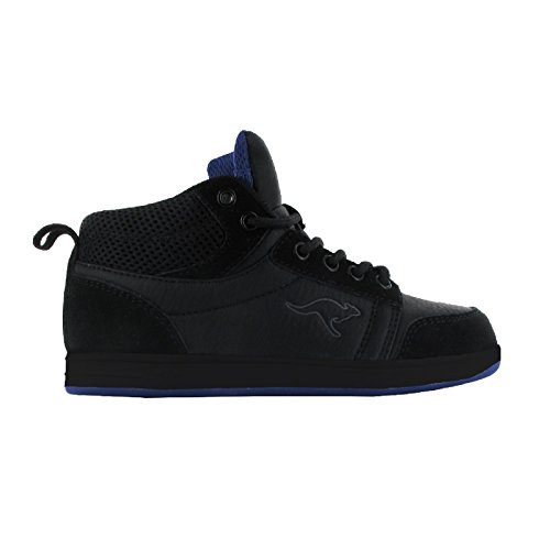 KangaRoos - Zapatillas Deportivas Cuello bajo Skye para niños niñas (39 EU) (Negro/Negro/Real)