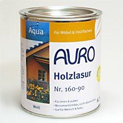 Auro Holzlasur Aqua - Hell-Braun - 2,5L