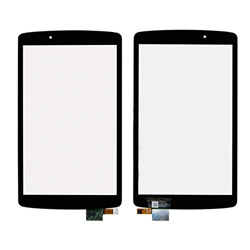 TheCoolCube Touch Digitizer Replacement Screen Glass Compatible with LG G Pad 8.0 V495 V496 UK495 AK495 (Not Include LCD) (Black)