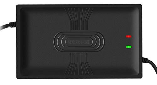 QDY -Cargador de batería de Litio de 64 V 6 A, Adaptador...
