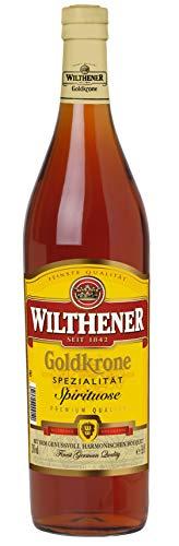 Wilthener Goldkrone, mild-harmonische Spirituose, 28% vol., mit hochwertigen Weindestillaten veredelt (1 x 3.0 l )