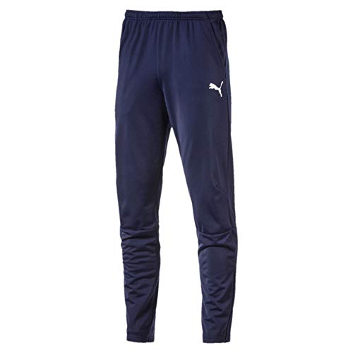 PUMA Herren Liga Training Pants Hose, blau(Peacoat-PUMA White), XL