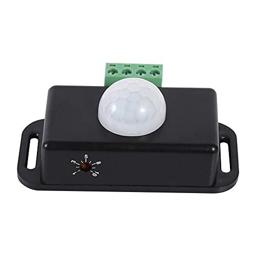 FTVOGUE Sensor de movimiento interruptor de seguridad del cuerpo infrarrojo PIR sensor de movimiento interruptor DC 12 V/24 V