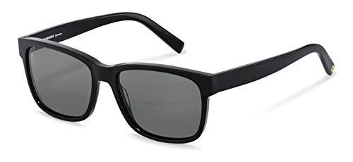 Rodenstock Herren Sonnenbrille RR339, aus leichtem Acetat in eckiger Form und Oversized-Look