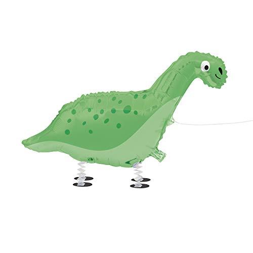 Folien-Luftballon Laufendes Haustier Dinosaurier - 63 cm