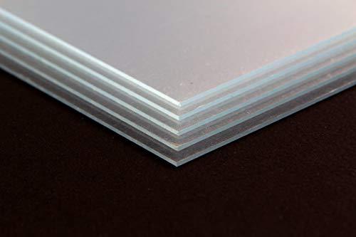 myposterframe Glasplatte Acrylglas matt 50 x 70 cm Scheibe Größenwahl Mengenrabatt 70 x 50 cm Hier: Acrylglas antireflex 1mm